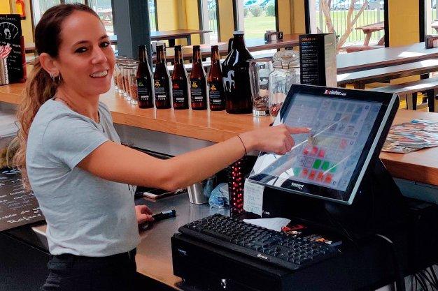 Instalación Ágora en Cervezas La Pepa (Jerez de la Frontera)