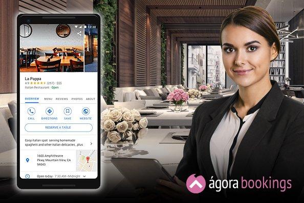 agora bookings integracion